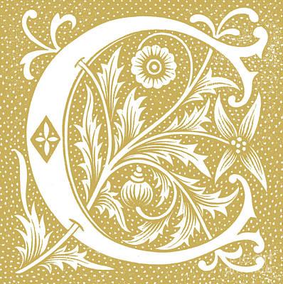 Designs Similar to Illuminated Letter C