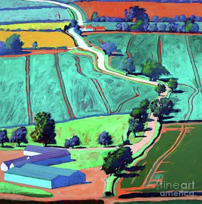 Designs Similar to Lane II by Paul Powis