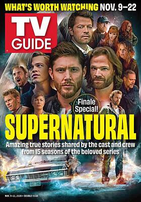 TV Guide Magazine Covers Wall Art