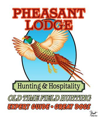 Pheasant Digital Art