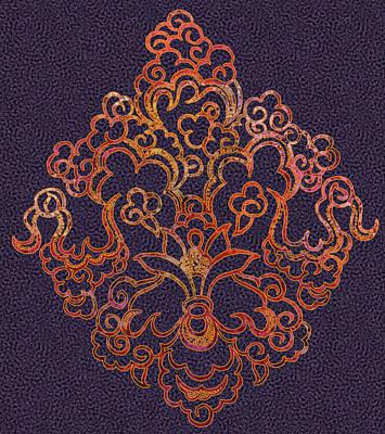 Digital Art - Byzantine Fireworks by Sarajane Helm