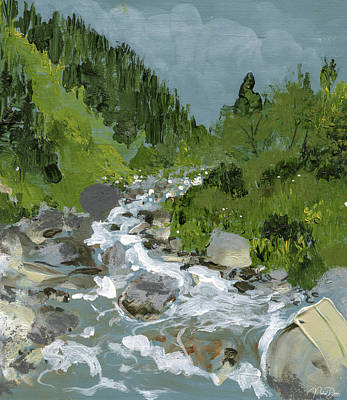 Painting - Himachal by Nehal Desai