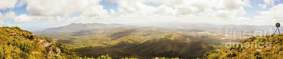 Tranquil Mountaintop Art