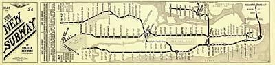 Designs Similar to New York Subway Map