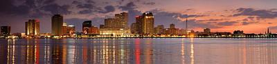 New Orleans Skyline Art