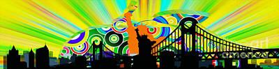 Harlem Ny Digital Art Prints