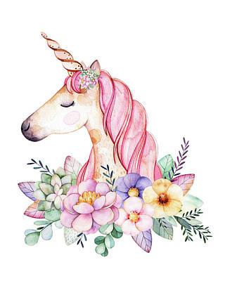 Unicorn Horn Digital Art