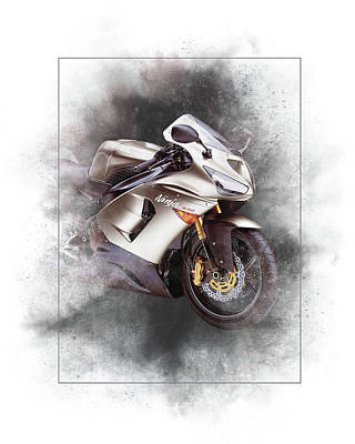 Designs Similar to Kawasaki Ninja Zx-14 Painting