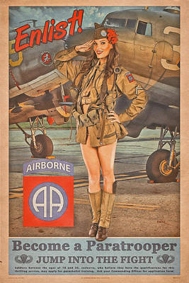 Designs Similar to Enlist In The 82nd Airborne
