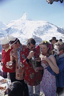 Designs Similar to Zermatt Skiing by Slim Aarons