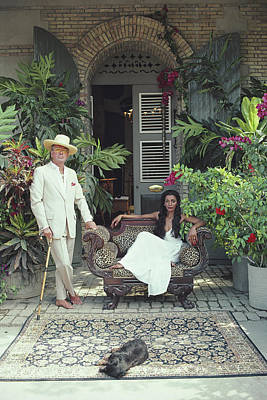 Designs Similar to Olivier Coquelin by Slim Aarons