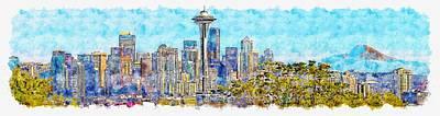 Designs Similar to Seattle, Washington
