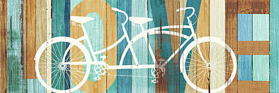 Designs Similar to Beachscape Tandem Bicycle Love