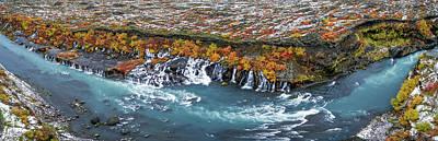 Designs Similar to Hraunfossar Waterfalls, Iceland
