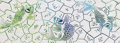 Dots And Lines Digital Art