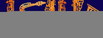 Saxophone Paintings