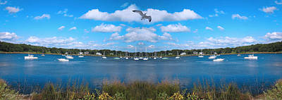New England Marina Park Prints
