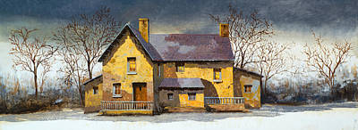 Stone House Paintings Prints