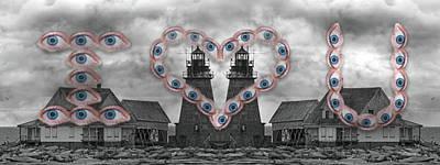 Maine Coast Digital Art