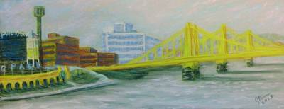 Pnc Park Original Artwork
