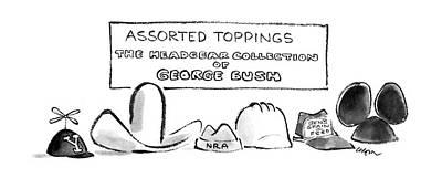 George Bush Drawings