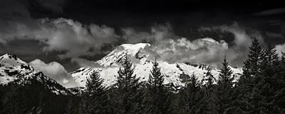 Designs Similar to Mt Rainier Panorama B W