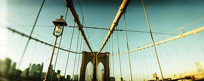 Designs Similar to Suspension Bridge With A City