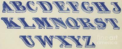 Designs Similar to Blue Italian Shaded Font