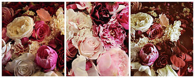 Designs Similar to Rose Collage Triptych