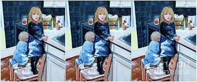 Designs Similar to Flour Fight  by Iris Richardson