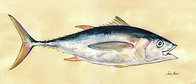 Big Eye Tuna Paintings