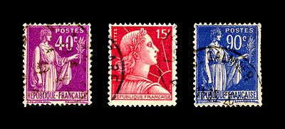 Stamp Collection Art