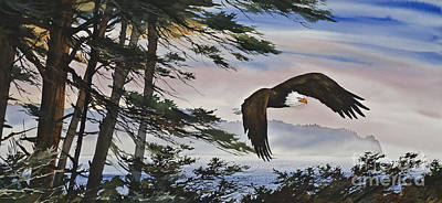Artist James Williamson Eagle Prints