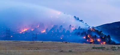 Colorado Wildfires Original Artwork