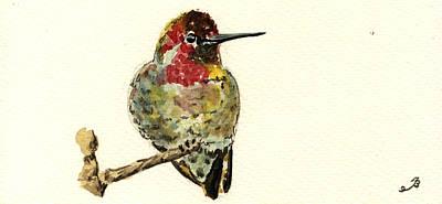 Annas Hummingbirds Art