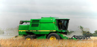 Combine Harvester Photographs