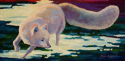 Arctic Fox Art Prints