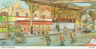 Storefronts Paintings