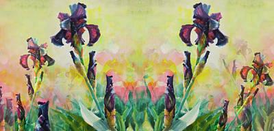 Designs Similar to Mirrored Purple Iris