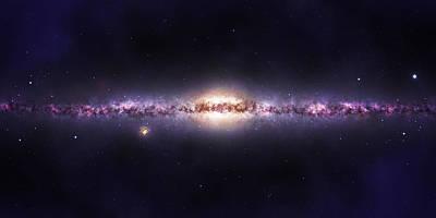 Galactic Mixed Media
