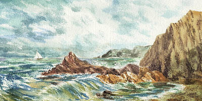 Designs Similar to Elongated Seascape Painting