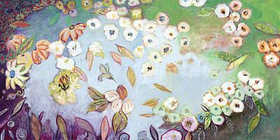 Abstract Hummingbird Posters