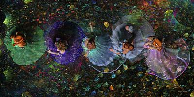 Ball Gown Digital Art Prints