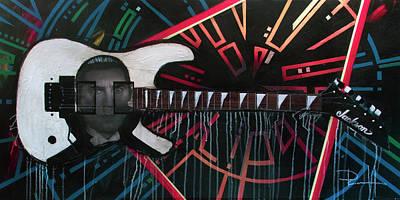 Def Leppard Paintings Original Artwork