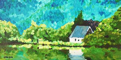 Gougane Barra Church Paintings