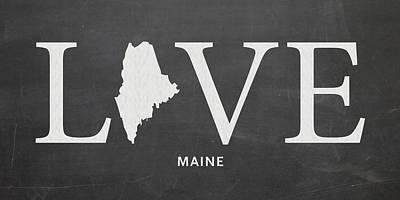 Southern New England Mixed Media Prints