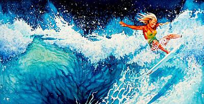 Little Surfer Girl Prints