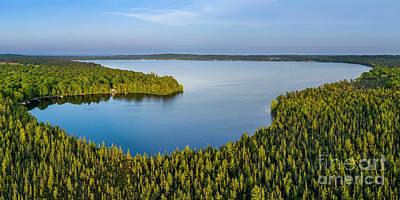 Designs Similar to Bear Lake Evening Aerial