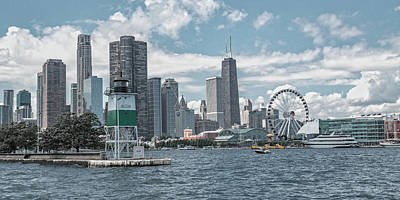 Designs Similar to Dazzling Day Navy Pier Chicago