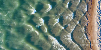 Designs Similar to Manistee Beach Waves Aerial